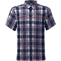 The North Face Short Sleeve Vent Me Shirt - Men's, Turkish Sea Plaid, 256