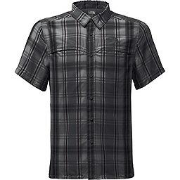 The North Face Short Sleeve Vent Me Shirt - Men's, Asphalt Grey Plaid, 256