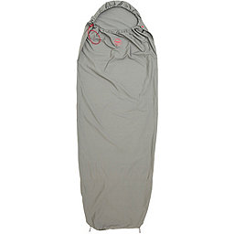 Big Agnes Cotton Sleeping Bag Liner, Gray, 256