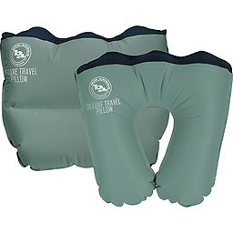 Big Agnes Deluxe Travel Pillow, Green, 256