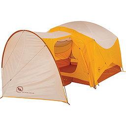 Big Agnes Big House 4 Deluxe Vestibule, Gold-White, 256
