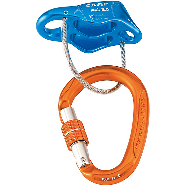 CAMP USA Cassin Piu 2 Belay Kit, Blue, 600