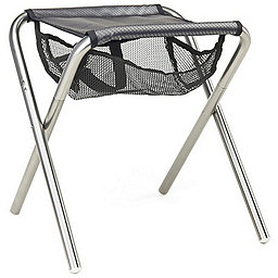 Grand Trunk Collapsible Camp Stool, Black-Silver, 256