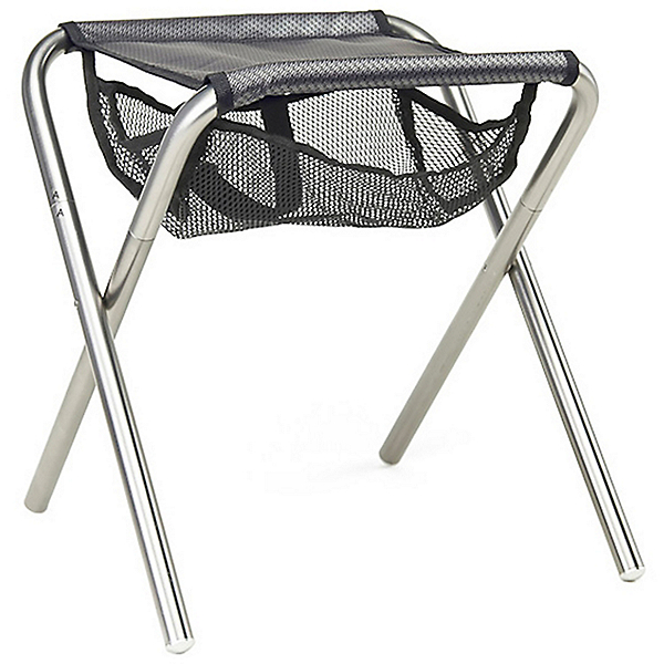 Grand Trunk Collapsible Camp Stool, Black-Silver, 600