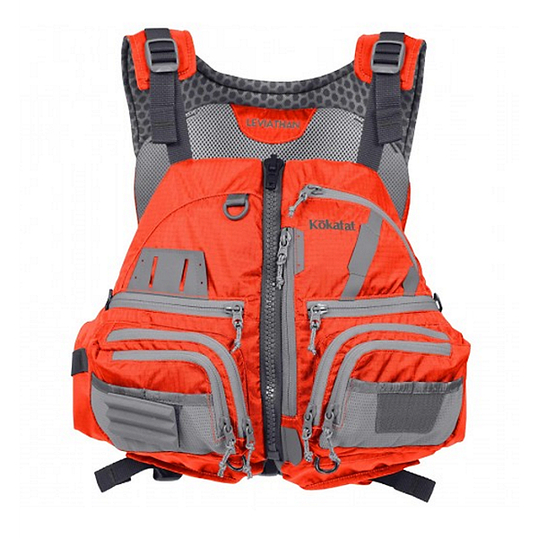 Kokatat Leviathan Fishing PFD Orange - XL/2XL, Orange, 600