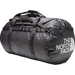 TNF Base Camp Duffel, TNF Black Chalk Print- Black, 256