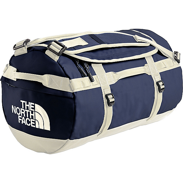 The North Face Base Camp Duffel - MD/Montague Blue-Vintage White, Montague Blue-Vintage White, 600