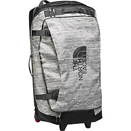 TNF Rolling Thunder Wheeled Duffel, Moonlight Ivory Print-Ivory, 256