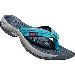 Keen Kona Flip - Women's, Lake Green-Dress Blues, 256