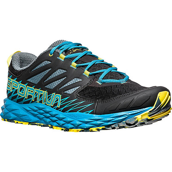La Sportiva Lycan - Men's - 46.5/Black-Tropic Blue, Black-Tropic Blue, 600