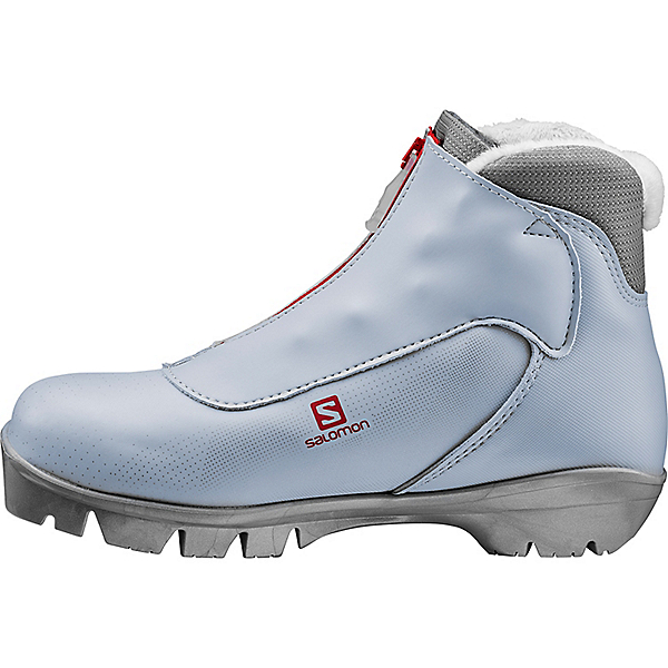 Salomon Siam 5 Pilot - Women's - 6.5/Light Grey-Red, Light Grey-Red, 600