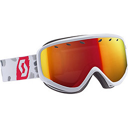 Scott Capri Goggle, WhiteRed-RedChrome, 256