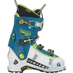 Scott Superguide Carbon GTX Boot, White-Maui Blue, 256
