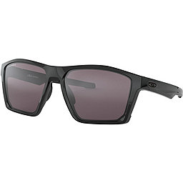 Oakley Targetline Sunglasses, Pol Black w-PRIZM Grey, 256