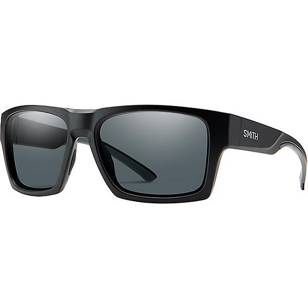 Smith Outlier 2 XL Sunglasses, Matte Black Poly Polarized Gry, 600