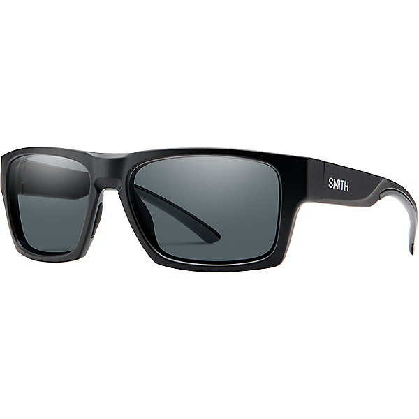 Smith Outlier 2 Sunglasses, Matte Black Poly Polarized Gry, 600