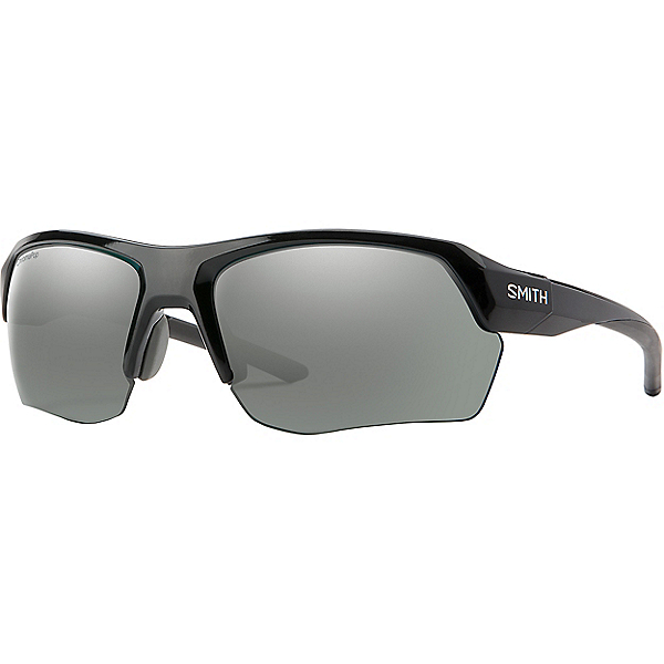 Smith Tempo Max Sunglasses, Blk ChromapopPolarizedPlatinum, 600