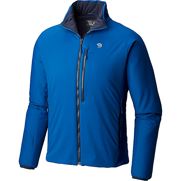 Mountain Hardwear Kor Strata Jacket - Men's - XL/Nightfall Blue, Nightfall Blue, 600