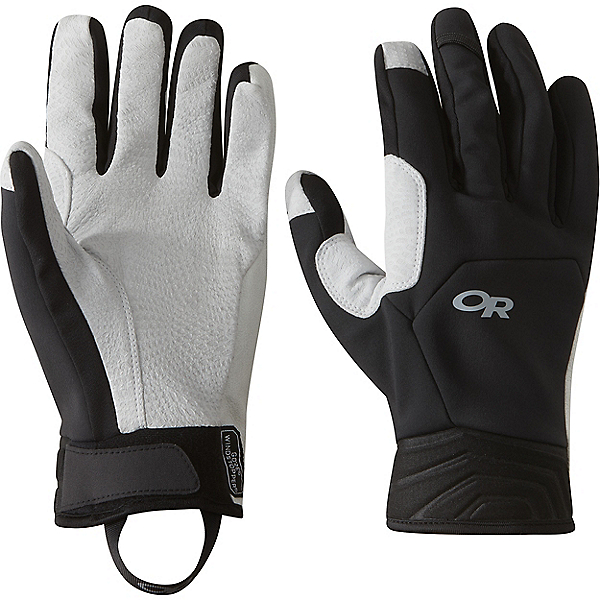 Outdoor Research Mixalot Gloves, Black-Alloy, 600