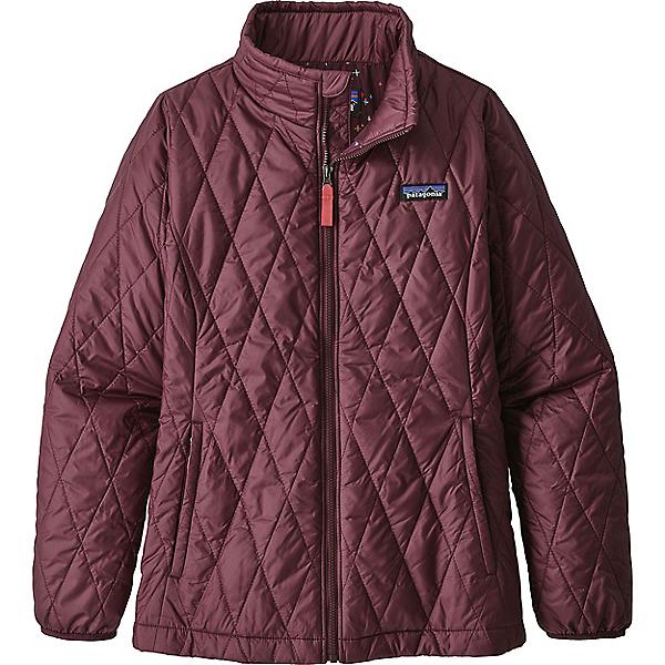 Patagonia Nano Puff Jacket - Girls' - XL/Dark Currant, Dark Currant, 600