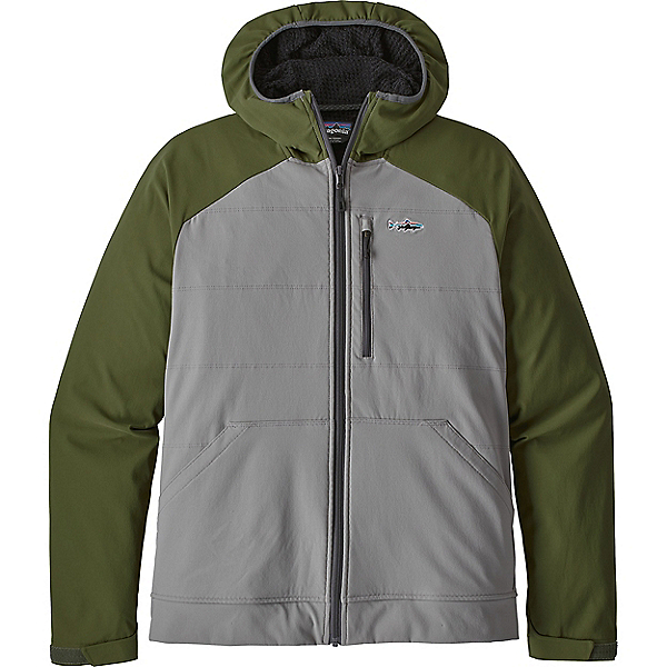 Patagonia Snap-Dry Hoody - Men's - XL/Feather Grey, Feather Grey, 600