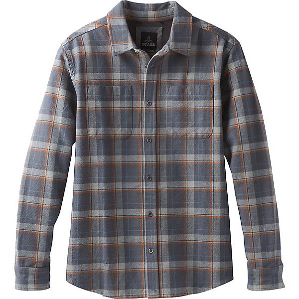 prAna Brayden Long Sleeve Flannel - Men's, Coal, 600