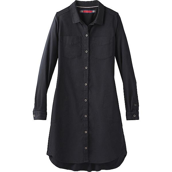 prAna Yarrow Dress - Women's - LG/Black, Black, 600