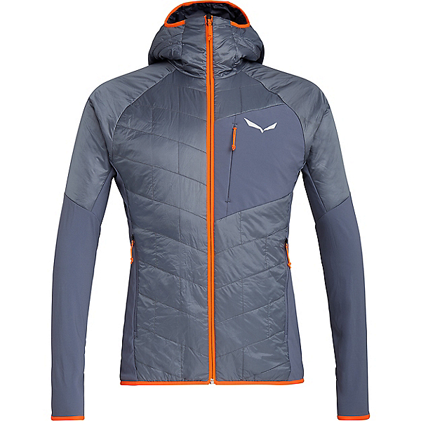 Salewa Ortles Hybrid Tirol Wool CLT Jacket - Men's - MD/Flint Stone, Flint Stone, 600