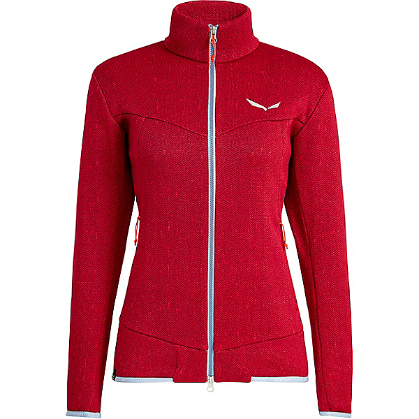 Salewa Puez Vintage PolarLite Full Zip - Women's - MD/Rose Red-Red Plum, Rose Red-Red Plum, 600