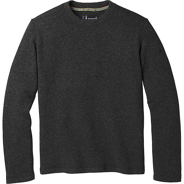 Smartwool Hudson Trail Fleece Crew Sweater - Men's, Dark Charcoal, 600