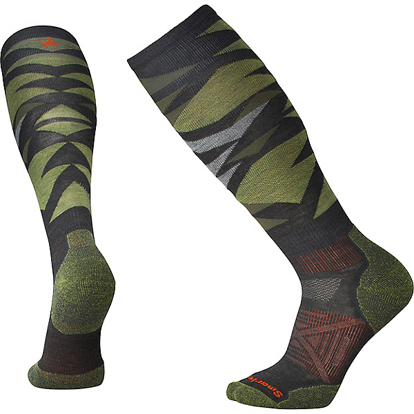 Smartwool PhD Ski Light Pattern, Charcoal, 600