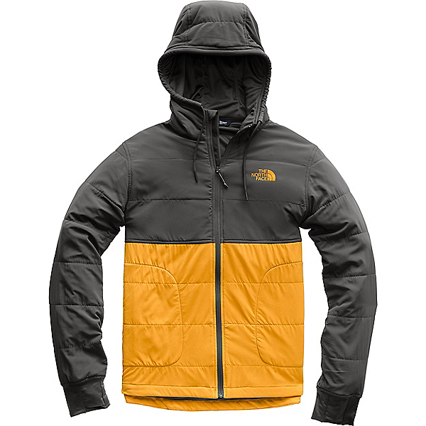 The North Face Mountain Sweatshirt 2.0 - Men's - XL/Citrine Yellow-Asphalt Grey, Citrine Yellow-Asphalt Grey, 600