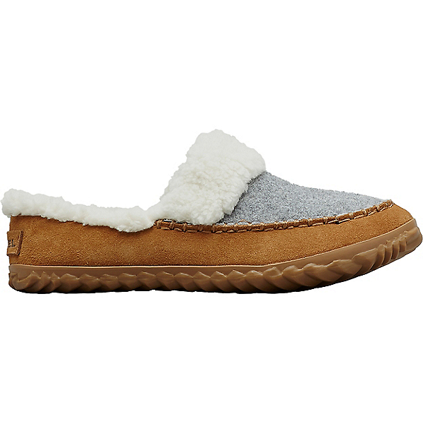 Sorel Out N About Slide - Women's, Light Grey-Elk, 600