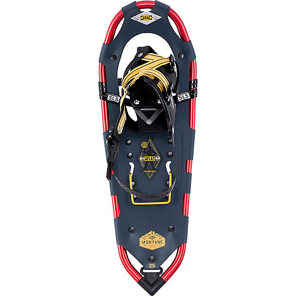 Atlas Montane Snowshoe, Black-Red, 600
