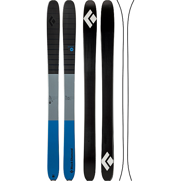 Black Diamond Boundary Pro 107 Ski, Denim, 600