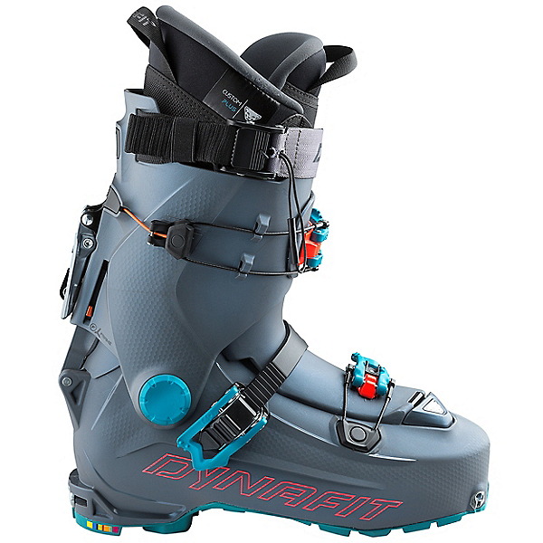 Dynafit Hoji Pro Tour Ski Boot - Women's - 27/Asphalt-Hibiscus, Asphalt-Hibiscus, 600