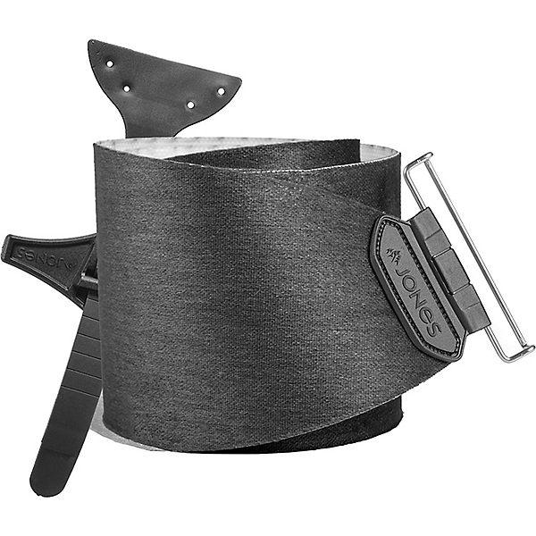 Jones Snowboards Nomad Pro Skin w/Universal Tail Clip, Black, 600