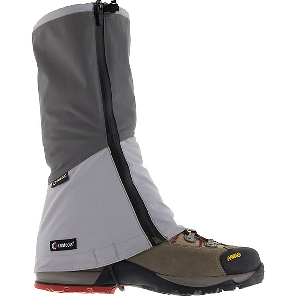 Kahtoola LEVA Gaiters, Dark Grey-Light Grey, 600