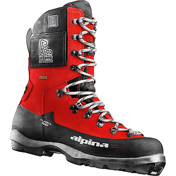 Alpina Alaska Heated Ski Boot - 42/Red, Red, 600