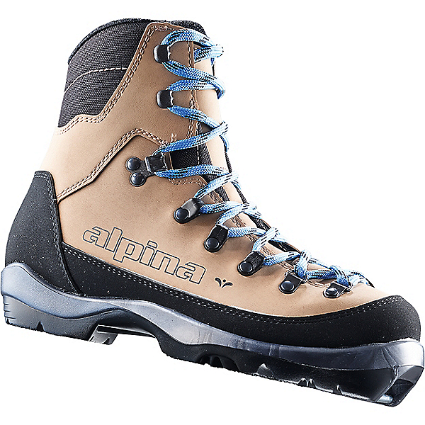 Alpina Montana Eve Ski Boot - Women's - 35/Brown-Black-Blue, Brown-Black-Blue, 600
