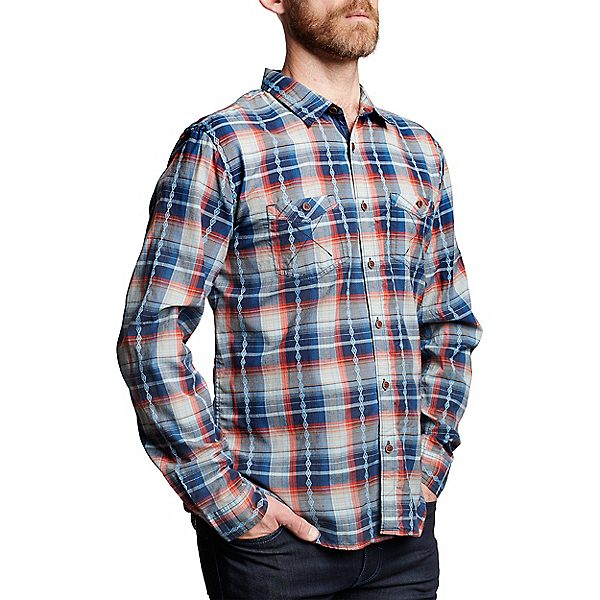 Meridian Line Friday Long Sleeve - Men's, Indigo, 600