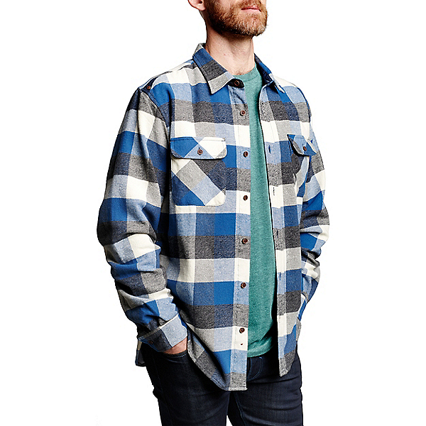 Meridian Line Rainier Shirt Jacket - Men's, Blue, 600