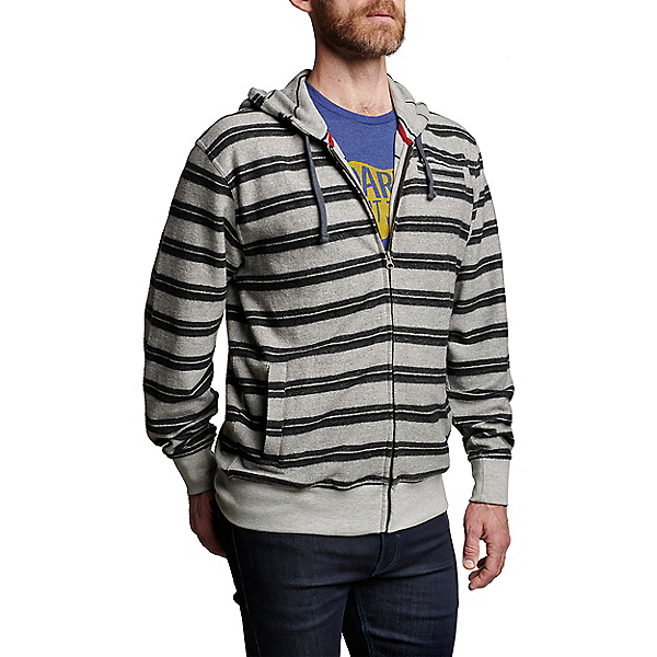 Meridian Line Glacier Full Zip Hood - Men's, Grey, 600