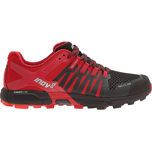 Inov-8 Roclite 305 - Men's - 8.5/Black-Red-Dark Red, Black-Red-Dark Red, 600