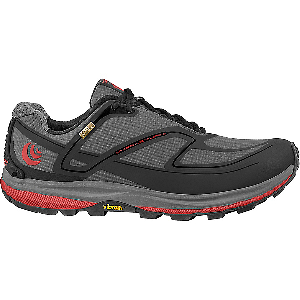 Topo Athletic Hydroventure 2 - Men's - 8.5/Charcoal-Red, Charcoal-Red, 600