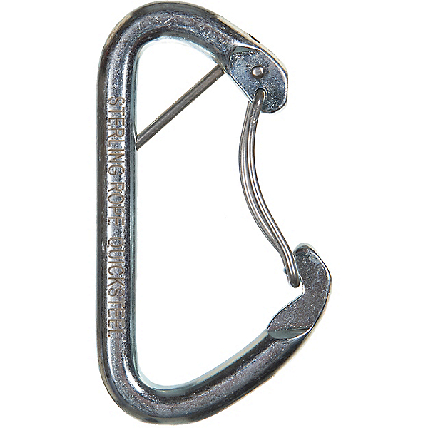 Sterling Steel Wire Gate Carabiner, None, 600