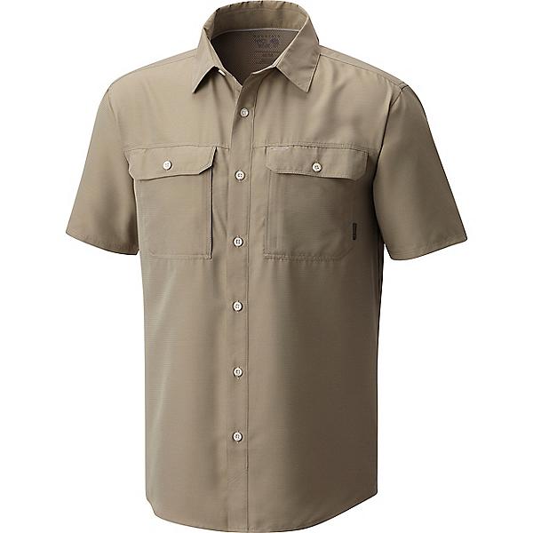Mountain Hardwear Canyon Short Sleeve Shirt - Men's - SM/Badlands, Badlands, 600