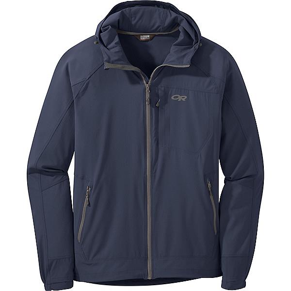 Outdoor Research Ferrosi Hooded Jacket - Men's - XL/Naval Blue, Naval Blue, 600