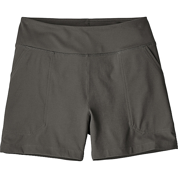 Patagonia Happy Hike Shorts 4 in - Women's - LG/Forge Grey, Forge Grey, 600