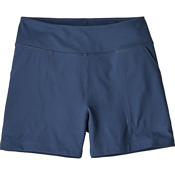 Patagonia Happy Hike Shorts 4 in - Women's - MD/Stone Blue, Stone Blue, 600
